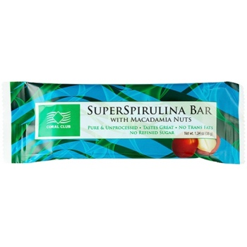 SuperSpirulina Bar with Macadamia Nuts (38 g)